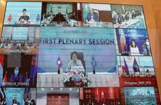 Participan presidentes de Parlamentos de Camboya y Laos a primer plenario de AIPA 41