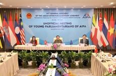 Destacan papel de jóvenes parlamentarios en construcción de Comunidad de ASEAN