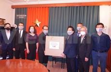 Apoyan a connacionales vietnamitas en República Checa en el combate contra COVID-19