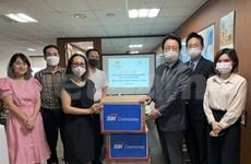 Empresa surcoreana dona 10 mil mascarillas a trabajadores vietnamitas