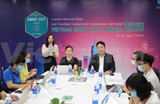 Convocan Premio de Urbes Inteligentes de Vietnam 2020