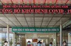 COVID-19: Reciben alta médica cinco pacientes del COVID-19 en Vietnam