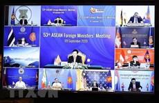 Celebran 53 Reunión de Ministros de Relaciones Exteriores de la ASEAN