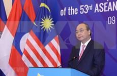 Premier de Vietnam interviene en Reunión 53 de Ministros de Relaciones Exteriores de la ASEAN