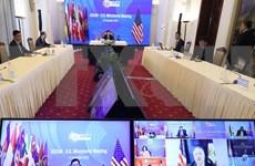 Estados Unidos anuncia programas de cooperación y apoyo con los países de la ASEAN