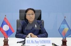 Presidenta del Parlamento laosiano valora papel de Vietnam en la AIPA 41