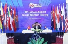 Cancilleres de la ASEAN debaten otros contenidos importantes