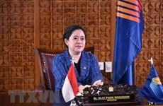 Presidenta de Cámara Baja de Indonesia aprecia desempeño del Parlamento vietnamita en AIPA