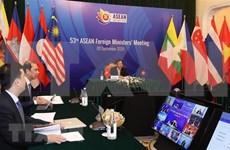 Cancilleres de la ASEAN reiteran compromiso de cooperación frente al COVID-19