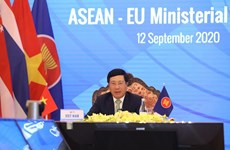 Intensifica ASEAN la cooperación con Unión Europea y la India