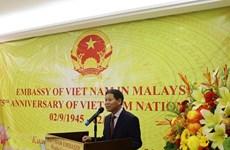 Celebran en Malasia aniversario 75 del Día Nacional de Vietnam