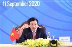 Sigue en curso 53 Reunión de Ministros de Relaciones Exteriores de la ASEAN