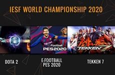Celebrarán en Hanoi torneos de deportes electrónicos para el Campeonato Mundial 2020