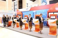Empresa Unitel de Vietnam reconocida por sus contribuciones a la transformación digital de Laos