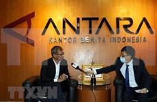 Agencia de noticias de Indonesia felicita a la VNA por el aniversario 75 de su fundación