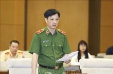 Comité Permanente del Parlamento vietnamita debate Ley de garantía de orden y seguridad vial