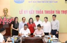 Empresas vietnamitas unen esfuerzos para respaldar a niños menos favorecidos