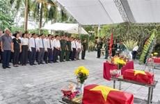 Celebran en provincia vietnamita homenaje póstumo a mártires caídos en defensa de frontera