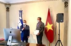 Desea Honduras promover relaciones de amistad y cooperación con Vietnam