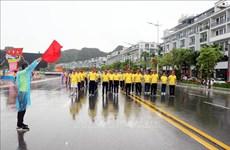 En Quang Ninh maratón por salud pública