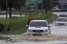 Más de 20 provincias tailandesas afectadas por la tormenta Noul