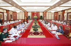 Supervisan preparativos para VII Asamblea partidista de las fuerzas policíacas de Vietnam