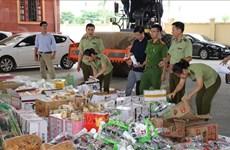 Provincia Vietnamita Ninh Binh destruye gran cantidad de bienes ilegales