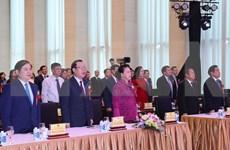 Presidenta de Parlamento de Vietnam exhorta a impulsar movimientos de emulación