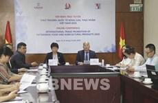 Efectúan en Hanoi mayor evento de promoción comercial de alimentos y productos agrícolas