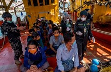 Reciben atención consular pescadores vietnamitas detenidos temporalmente en Indonesia