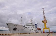 Universidad marítima vietnamita recibe buque escuela del Corea del Sur