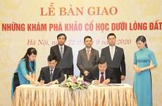 Establecen área de descubrimientos arqueológicos subterráneos de la sede del Parlamento vietnamita