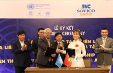Grupo vietnamita de SOVICO se convierte en socio estratégico de ONU