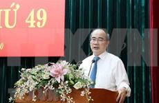 Instancia partidista de Ciudad Ho Chi Minh traza orientaciones para futuro desarrollo municipal