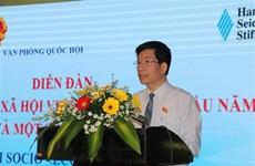 Efectúan foro sobre situación socioeconómica de Vietnam en 2020