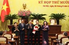 Chu Ngoc Anh, elegido presidente del Comité Popular de Hanoi