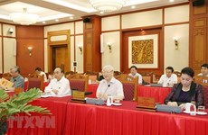 Buró Político cumple su agenda de trabajo con comités partidistas del mandato 2020-2025