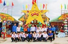 Organizan fiesta del medio otoño para niños en provincia vietnamita de Long An