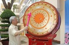 Presidente de Vietnam felicita a los niños por Fiesta del Medio Otoño