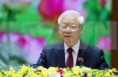Máximo dirigente de Vietnam llama a establecer un comité partidista ejemplar y fuerte en el Ejército