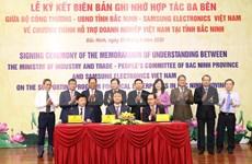 Samsung aumenta la asistencia a empresas en provincia vietnamita de Bac Ninh