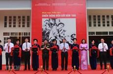 Inauguran exposición sobre Campaña Fronteriza de 1950 en provincia norteña de Cao Bang