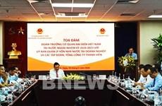 Efectúan coloquio entre jefes de misiones representativas vietnamitas en el exterior y empresas