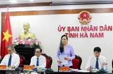 Japón elogia entorno inversionista de la provincia de Ha Nam