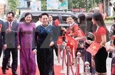 Presidenta del Parlamento vietnamita asiste al V Congreso de Emulación Patriótica de Thai Nguyen