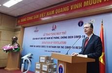 Estados Unidos entrega 100 ventiladores pulmonares a Vietnam