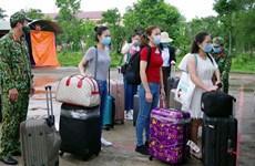 Vietnamitas repatriados desde Singapur completan período de cuarentena