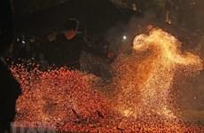 Vietnam reconoce a Fiesta de danza sobre fuego como patrimonio intangible nacional