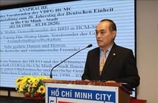 Celebran en Ciudad Ho Chi Minh el 30 aniversario de la reunificación de Alemania