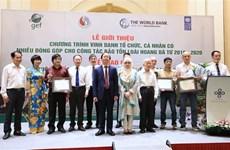 Honran en Vietnam a personas y organizaciones por conservación de la vida silvestre